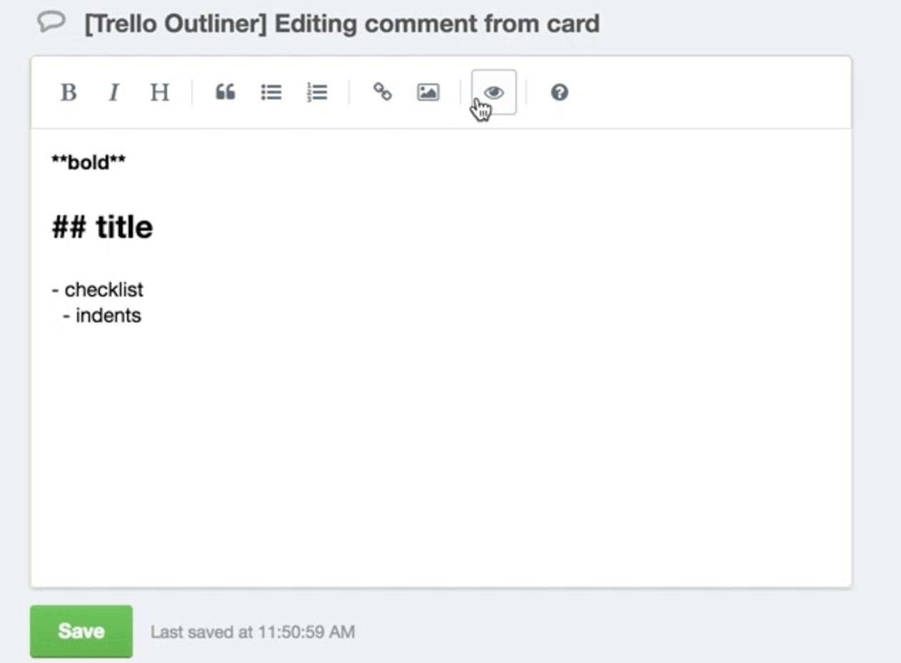 Comment Editor by AJ screenshot